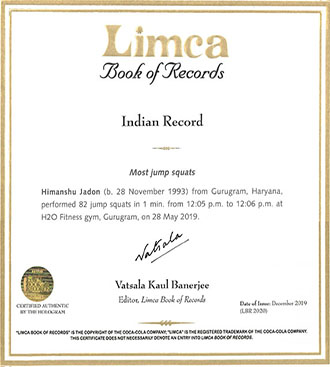Limca_record_himanshu_jadon