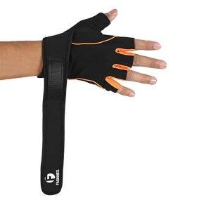 Gym glove open