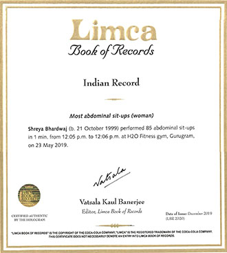 limca_record_shreya_bhardwaj