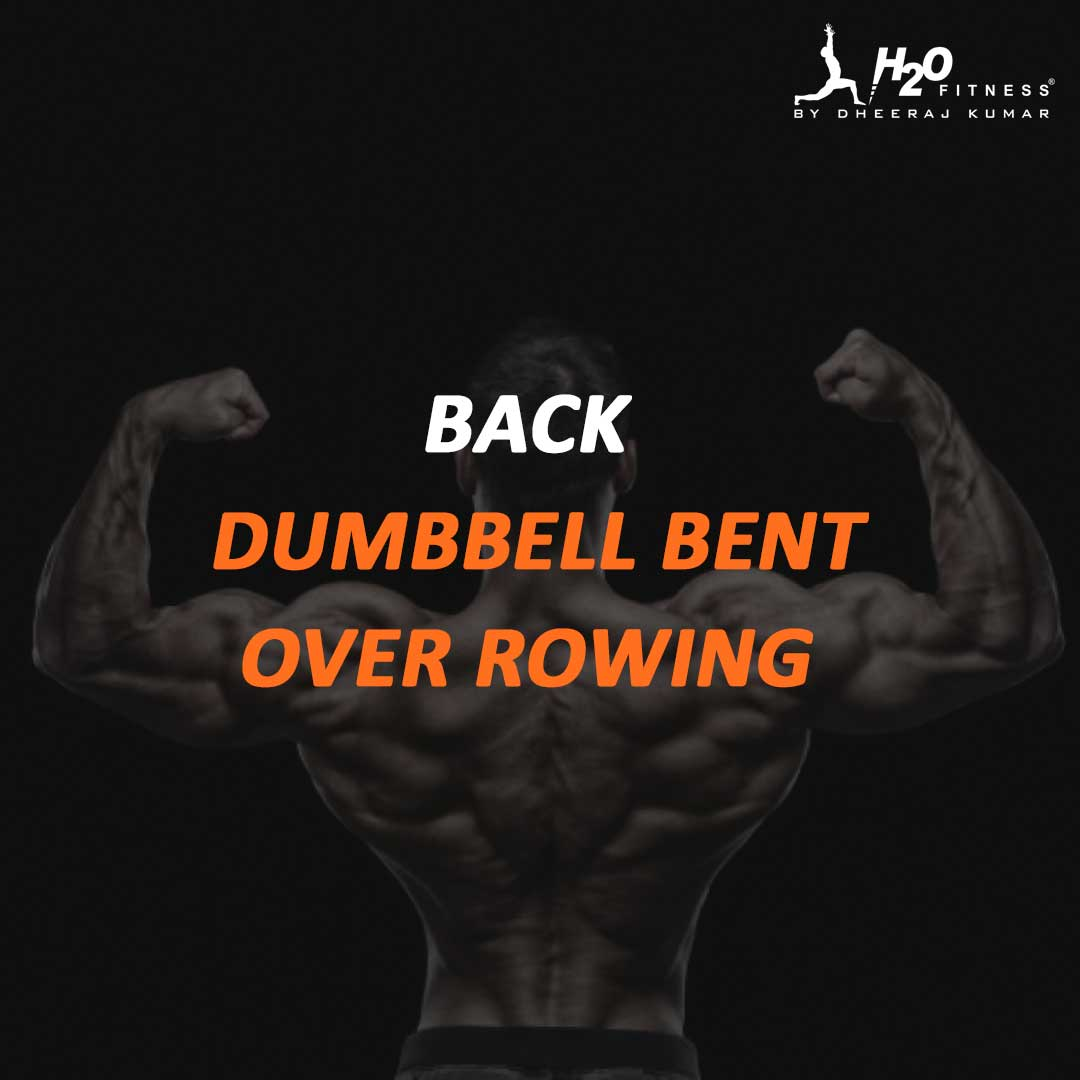 Back - Dumbbell Bent Over Rowing